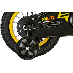 s'cool XXlite 12 steel Kinder black/yellow